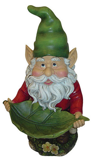 Garden Gnome Bird Feeder - Click to enlarge