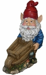 Garden Gnome with Cart