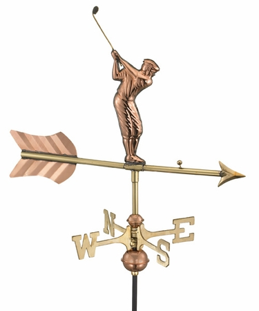 Garden Golfer Weathervane - Click to enlarge
