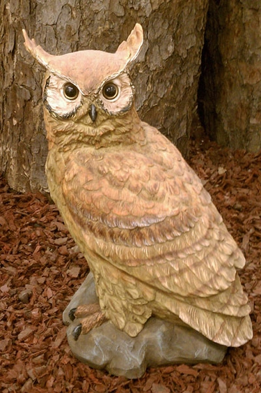 Garden Owl Statue - Click to enlarge