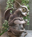 Gargoyle Bird Feeder - Brother Igor