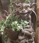 Gargoyle Planter - Mother Olga