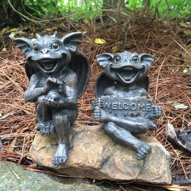 Gargoyle Gargiggle Shelf Sitters (Set of 5) - Click to enlarge