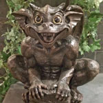 Gargoyle Statue - Father Boris