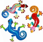 Gecko Wall Art Decor