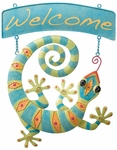 Gecko Welcome Sign