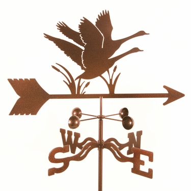 Geese Weathervane - Click to enlarge
