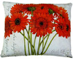 Gerbera Bouquet 3 Outdoor Pillow