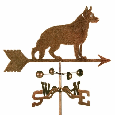German Shepherd Weathervane - Click to enlarge