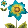 Giant Flower Stake - Blue (Set of 2)