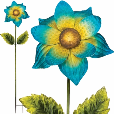 Giant Flower Stake - Blue (Set of 2) - Click to enlarge