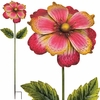 Giant Flower Stake - Pink/Gold (Set of 2)