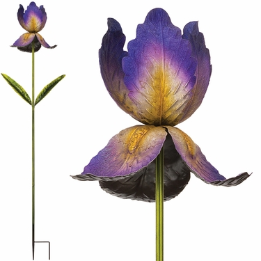 Giant Flower Stake - Purple (Set of 2) - Click to enlarge