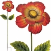Giant Flower Stake - Red (Set of 2)