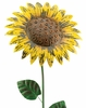 Giant Rustic Yellow Sunflower Stake (Set of 2)