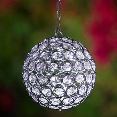 Glam Ball LED Lights - White - Click to enlarge