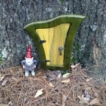 Gnome & Fairy Fantasy Door - Leaf - Click to enlarge