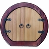 Gnome & Fairy Fantasy Door - Round