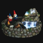 Gnome Fountain Kit w/LED Lights