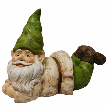 Gnome Resting Statue - Click to enlarge