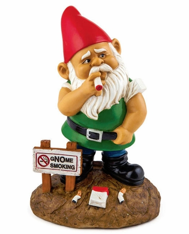 Gnome Smoking - Click to enlarge