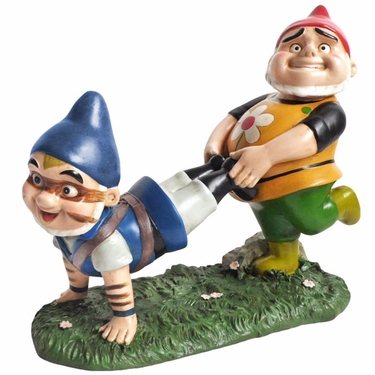 Gnomeo & Tybalt Gnome Statue - Click to enlarge