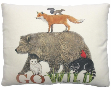 Go Wild Outdoor Pillow - Click to enlarge