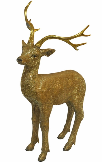 Gold Deer Statue - Medium - Click to enlarge