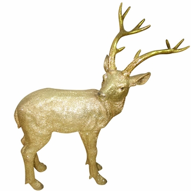 Gold Deer Statue - Small - Click to enlarge