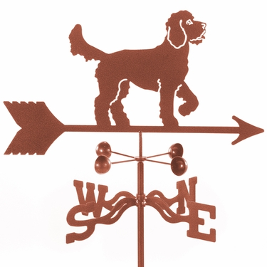 Golden Doodle Weathervane - Click to enlarge