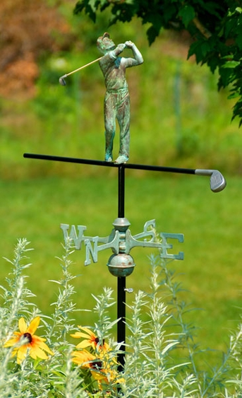 Golf Weathervane - Click to enlarge