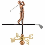 Golf Weathervane