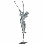 Golfer Wind Chime
