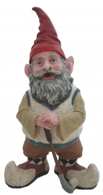 Golfing Lawn Gnome - Click to enlarge