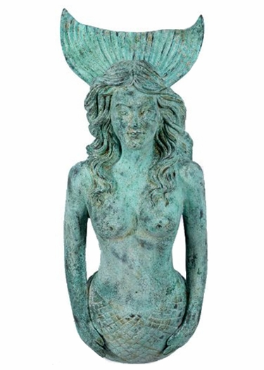 Gorgeous Mermaid 2-Piece Wall Decor - Shipwreck Finish - Click to enlarge