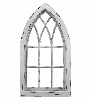Gothic Window Frame Decor - Click to enlarge