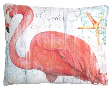 Grand Flamingo Outdoor Pillow - Click to enlarge
