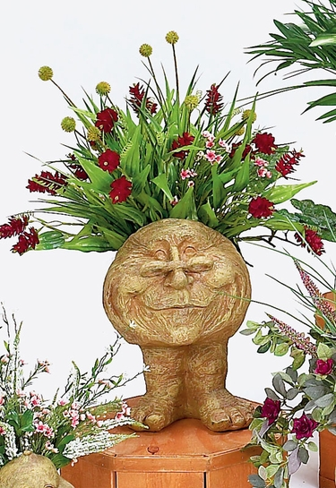 Grandma Rose Face Planter - Click to enlarge
