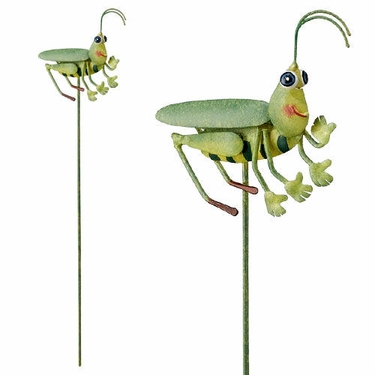 Grasshopper Garden Stakes (Set of 6) - Click to enlarge