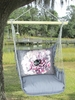 Gray Peony 1 Hammock Chair Swing Set