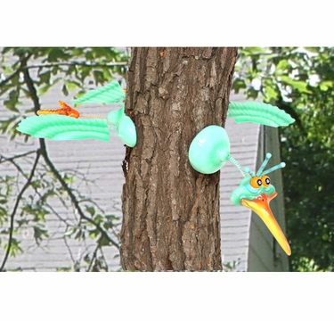 Green Bird Tree Art - Click to enlarge