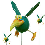 Green Dodo Birds (Set of 12)