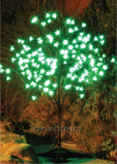 Green LED Cherry Blossom Tree - Click to enlarge