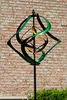 Green Twister Wind Spinner