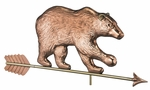 Grizzly Bear Weathervane