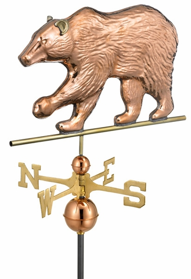 Grizzly Bear Weathervane - Click to enlarge