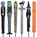 Halloween Planter Stakes (Set of 6)