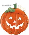 Halloween Pumpkin Decoration - Round