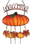 Fall Pumpkin Welcome Chime
