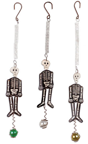 Halloween Skeleton Bouncies (Set of 3) - Click to enlarge